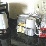 Coffee set-up