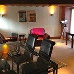 Cottage private lounge area