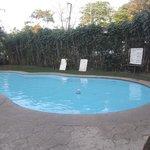 Espace piscine.