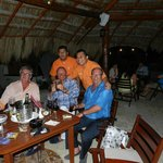Boys night out in Bar24 (Frankies bar orange shirt on the right)