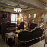 Hotel lobby/sitting area
