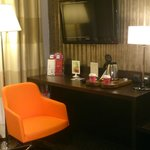 bureau et plateau d'accueil