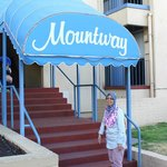The entrance of Mountway Apartments