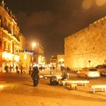 Imperial Hotel on left as walking into Old City at Jaffa Gate