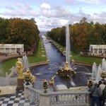 Вид с парапета двореца