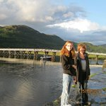 Toll bridge at Penmaenpool about ten minutes from Fairbourne.This area is a real snapshot of the