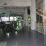 uma das salas que podemos rever os mais famosos jogos de futebol