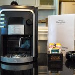 In-room coffee machine