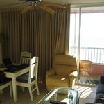 Living/dining area, Room 401
