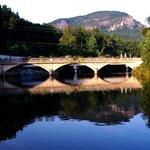 Lake Lure's Flosering Bridge