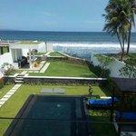 Private pool of Villa 9.