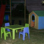 Kiddies play area