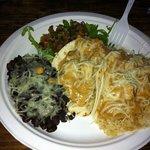 Tropical taco plate