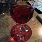 Layton's Chance Joes Cool Red (I already drank half the glass!!)
