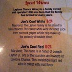 Local Wine Prices