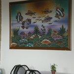 breakfast room artwork