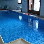 La piscine très propre
