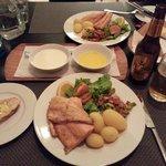 Dinner @ Volcano Hotel