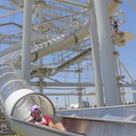 Reach up to 22mph on the Sky Slide