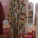 С выставки текстиля Средней Азии