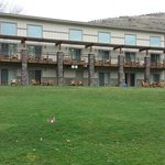 Beautiful grounds and suites