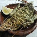 Grilled fish, very yummy~~