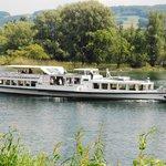 Boat on Lake Geneva--Passenger Ferry