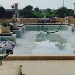 Nice pool if it had water