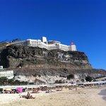 Vue du Vistamar depuis Playa de Amadores