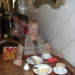 пирожные в Vivoli