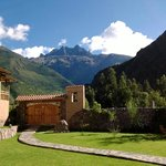 High Peaks Surround the Sacred Valley