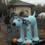 Gromit came to visit