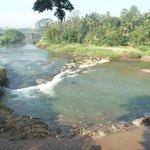 uitzicht op de rivier vanaf de rivier