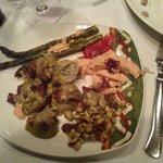 verduras verdes con foi
