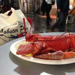 lobster for lunch ! :-)