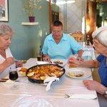 Paella im Restaurant