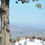 Indrukwekkend vergezicht (met Sierra Nevada op achtergrond)