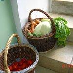 des légumes bio du potager