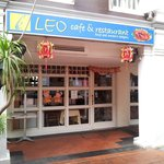 Leo's in the courtyard, great variety of cuisines