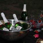 Valentine's day! Champagne!