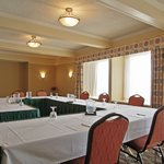 Spruce meeting room set for the day