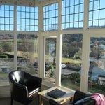 VIEW FROM BEDROOM HUGE BAY WINDOW