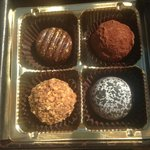Delicious truffles and hand-painted chocolates