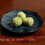 Trufas de te verde