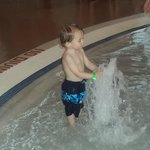 Fun in the pool at the Bavarian Inn