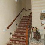 Escaleras a las habitaciones