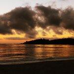 Amazing sunsets at Carmel beach