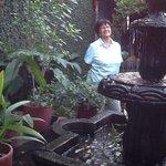 Maria Teresa in the Garden