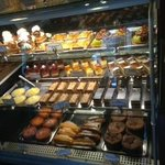 Selection of pastries at St. Honore Bakery