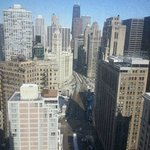 Looking North on Michigan Ave. from 31st Floor